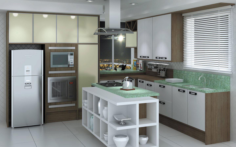 equipamentos embutidos na cozinha